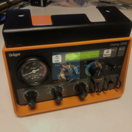 Ventilateur d'urgence Drager oxylog 2000