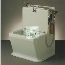 Vidoir lave-bassins HYCO en polyester