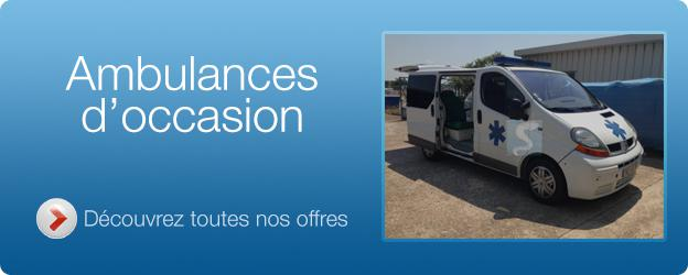 Ambulance d'occasion