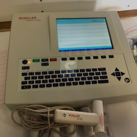 ECG Schiller modèle AT-102 plus avec Options Spiromètre