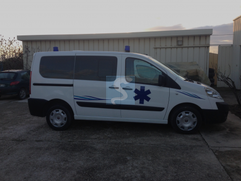 Ambulance  FIAT SCUDO de 2011