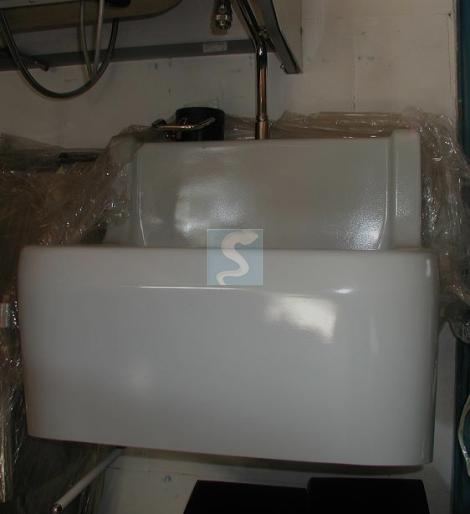 Lavabo DEVOLUY 1 poste polyester