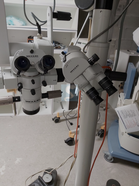 Microscope ophtalmologie Leica Wild  Mel 690