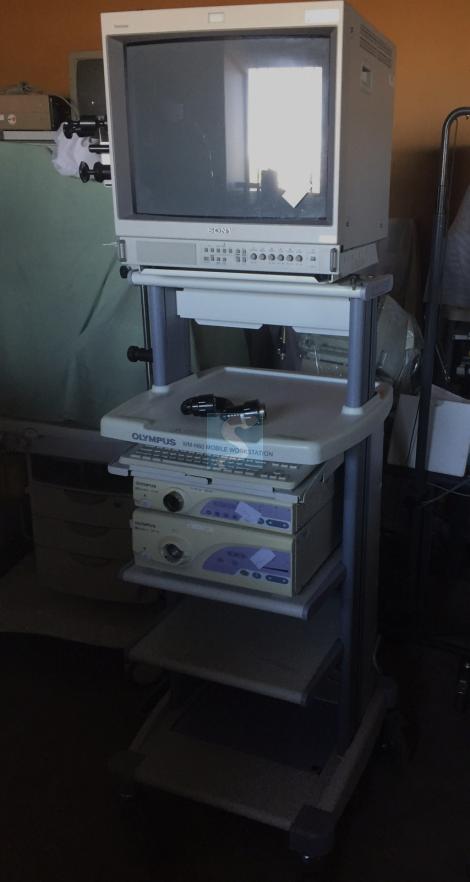 colonne d'endoscopie Olympus  EXERA 160
