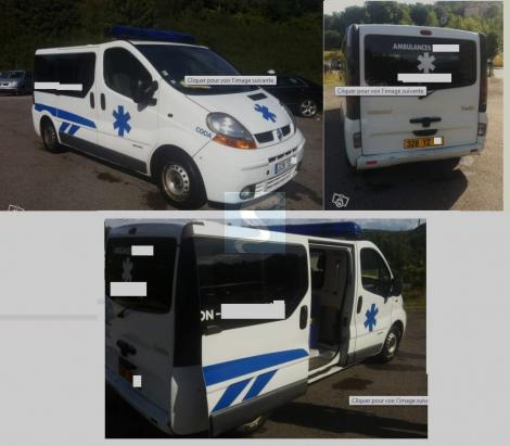 Ambulance Renault Trafic